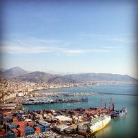 Photo taken at Porto di Salerno by Aly G. on 1/27/2012