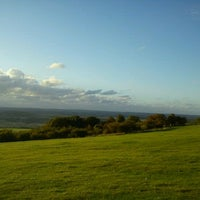 Photo taken at Dunstable Downs by Spyros K. on 9/11/2011