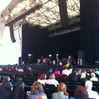 Photo taken at Blue Hills Bank Pavilion by Ryan L. on 7/29/2012