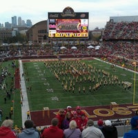 Photo taken at TCF Bank Stadium by Tony L. on 11/12/2011