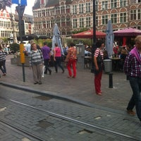 Photo taken at Sint-Veerleplein by Eva B. on 9/2/2012