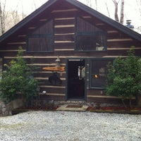 Photo taken at Cherokee Lodge Cabin by Sean C. on 12/26/2011