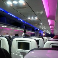 Photo taken at Virgin America by Alicia M. on 9/29/2011