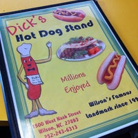 Photo taken at Dick's Hot Dog Stand by Michael B. on 1/10/2012