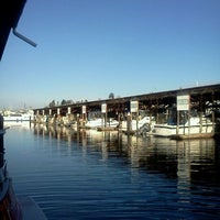 Photo taken at Everett Marina by Marcelle on 12/22/2011