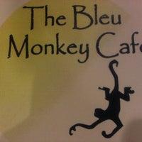 Photo taken at Bleu Monkey Cafe by J.Leo A. on 9/8/2012