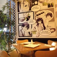 Photo taken at Sensei Sushi Bar by Kelly on 7/25/2012