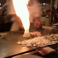 Photo taken at Sappari Japanese Steak House by Jon H. on 8/19/2011