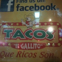 Photo taken at Tacos El Gallito by Terry M. on 7/30/2011