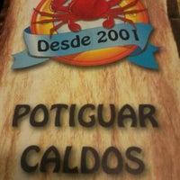 Photo taken at Potiguar Caldos by Danielly O. on 7/30/2012