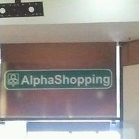 Foto tirada no(a) AlphaShopping por Vania S. em 8/18/2011