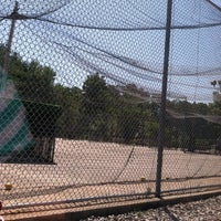 Photo taken at Berlin Batting Cages by Alexandra E. on 7/8/2012