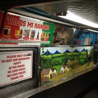 Photo taken at Tacos Mi Rancho by Derrick T. on 10/23/2011