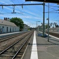 Photo taken at Gare SNCF de Saumur by MikaelDorian on 1/26/2011