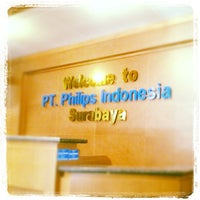 Photo taken at PT. Philips Indonesia by Budhi W. on 8/8/2012