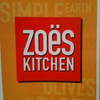 Photo taken at Zoës Kitchen by Christy D. on 8/17/2011