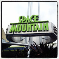 Photo taken at Space Mountain by Mike S. on 10/18/2011