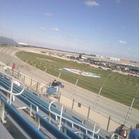 Photo taken at Chicagoland Speedway by David D. on 9/17/2011
