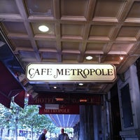 Photo taken at Café Métropole by Hans on 10/13/2011