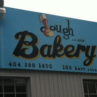 Photo taken at Dough Bakery by Laura H. on 8/4/2012