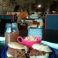 Photo taken at Bartertown Diner by FitGirlCari on 11/12/2011