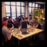 Photo taken at Stanford Technology Ventures Program by Lars F. on 4/15/2012