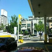 Photo taken at S-Oil 경원주유소 by Chanyee K. on 5/3/2012