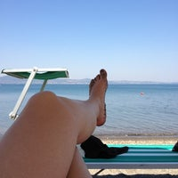 Photo taken at Lungolago Bracciano by Maria D. on 8/20/2012