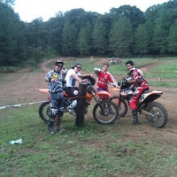 Photo taken at Escuela De Motocross MX2 by Ricardo G. on 7/8/2012