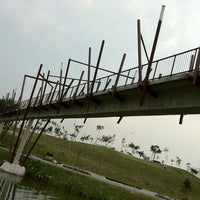 Photo taken at Kelong Bridge by Rick on 10/1/2011