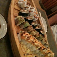 Photo taken at Wasabi Sushi Bar by Aimee C. on 1/3/2012