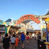 Photo taken at Wildwood Boardwalk by Scott M. on 8/6/2012