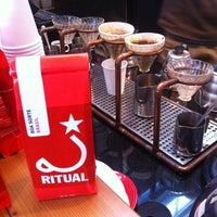 Photo taken at Ritual Coffee Roasters by Mutineer Magazine on 12/2/2011