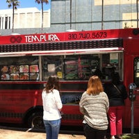 Photo taken at OG Tempura Truck by meg on 7/27/2012