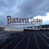 Photo taken at Batavia Downs Gaming & Racetrack by Joe M. on 4/28/2012