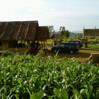 Photo taken at De'Saung Gunung Salak by Sarwo P. on 3/12/2011