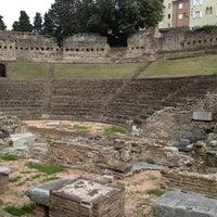 Photo taken at Teatro Romano by Paola E. on 6/8/2012