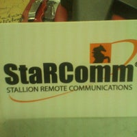 Photo taken at StaRComm by Leah K. on 8/31/2011