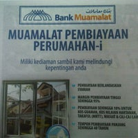 Photo taken at Bank muamalat HQ by eddie a. on 2/3/2012