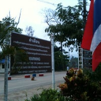 Photo taken at Banpakkad Immigration Checkpoint by Alexander K. on 3/20/2011