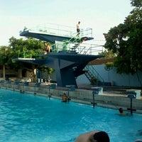 Photo taken at kolam renang Tirta Bhirawa Kopassus by Rifqi A. on 11/19/2011