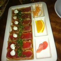 Photo taken at CRAVE American Kitchen & Sushi Bar by Jacob d. on 4/7/2012