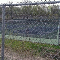 Photo taken at Poly-Hi Tennis Courts (University of Scranton) by Liz K. on 4/16/2012