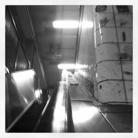 Photo taken at MTA Subway - East Broadway (F) by James C. on 10/27/2011