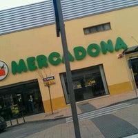 Photo taken at Mercadona by Javi V. on 1/26/2012