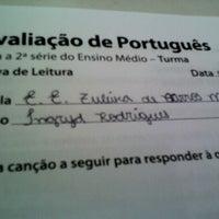 Photo taken at Escola Zuleika de Barros by Ingryd R. on 8/21/2012