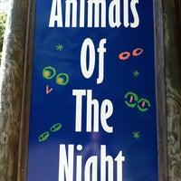 Photo taken at Memphis Zoo Creatures of the Night by Matthew J. on 4/18/2012