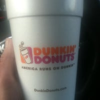 Photo taken at Dunkin' Donuts by Amy C. on 4/19/2012