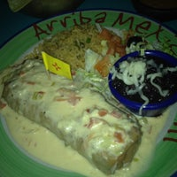 Photo taken at Arriba Mexican Grill by Tanner P. on 11/10/2011