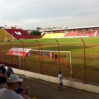 Photo taken at Estádio Mun. Pref. José Liberatti by Flavinho on 6/17/2012